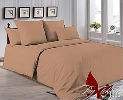 Евро комплект постельного белья однотонный - Maxi P-1323