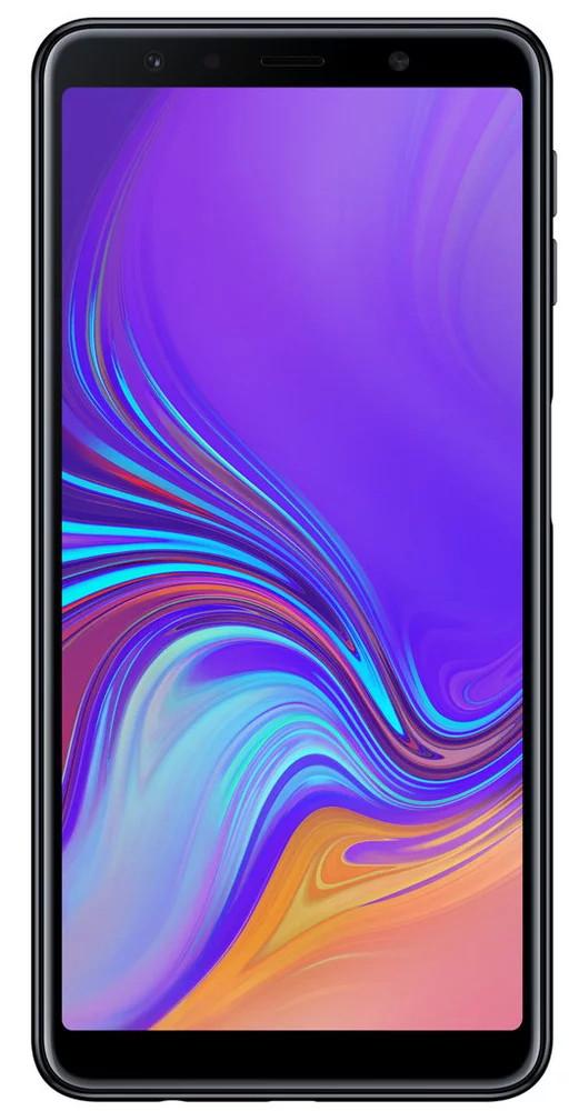Сенсорный мобильный телефон Samsung А750 2018 4/64 Black