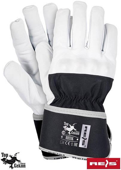 Перчатки рабочие кожаные утепленные REIS Польша RHUNK WB