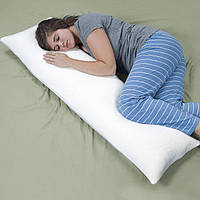 Подушки для тела Lavish Home Memory Foam Body Pillow, Bed Pillows for Pillow Cover,r, 50 inches x 14