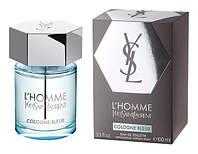 Оригинал Yves Saint Laurent L'Homme Cologne Bleue 100ml edt Ив Сен Лоран Эль Хом Колонь Блю, фото 1