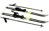Лыжи беговые в комплекте с палками (l-лыж-100см,l-палок-80см,PVC чехол,крепл.нерег.)
