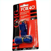 Свисток Fox 40 на шнурке пластик