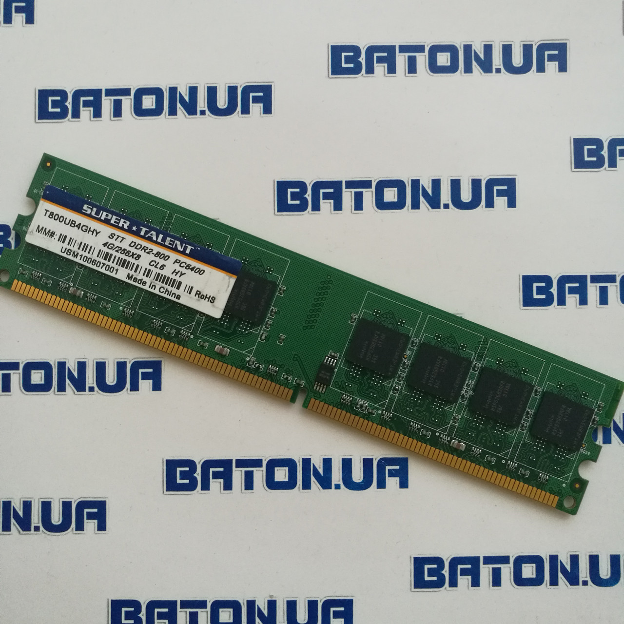 Оперативная память Super Talent DDR2 4Gb 800MHz PC2 6400U CL6 (T800UB4GHY)