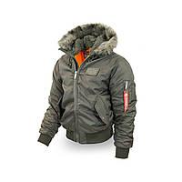 Куртка Dobermans Offensive KU32KH XXL Зеленая (KU32KH-XXL)