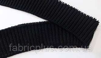 Довяз манжетный черный 7х75 см