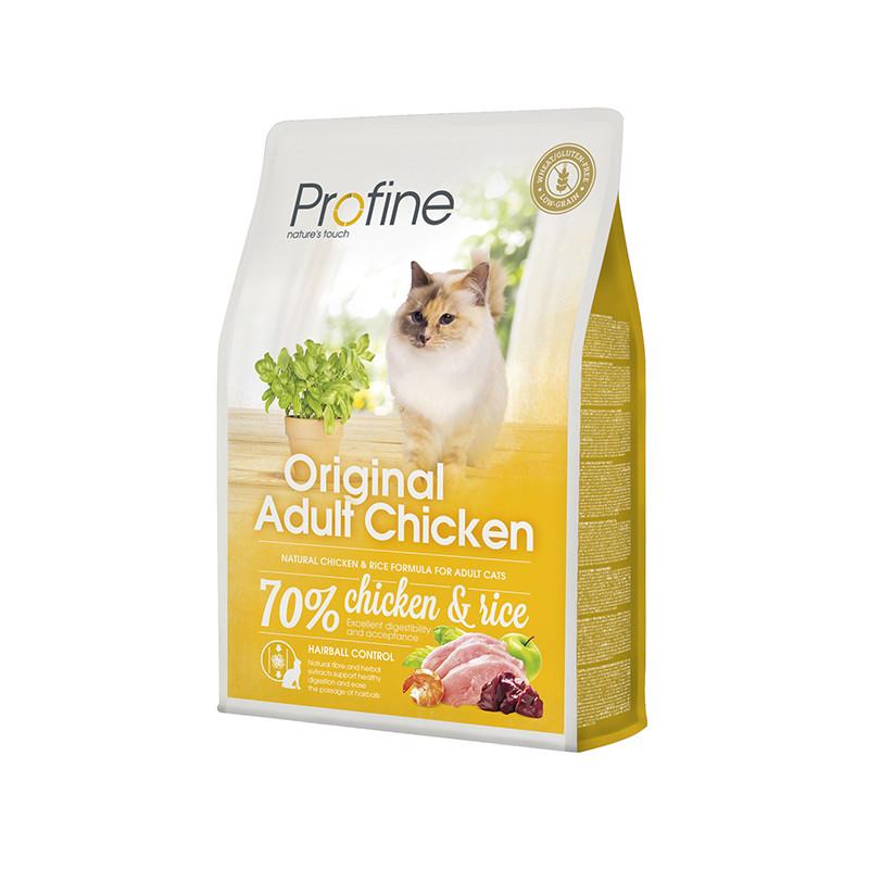 Profine Cat Original Adult 2 кг курица и рис, профайн для всех пород кошек