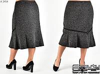 Теплая женская юбка размер 52.54.56.58.60.62.64.66.