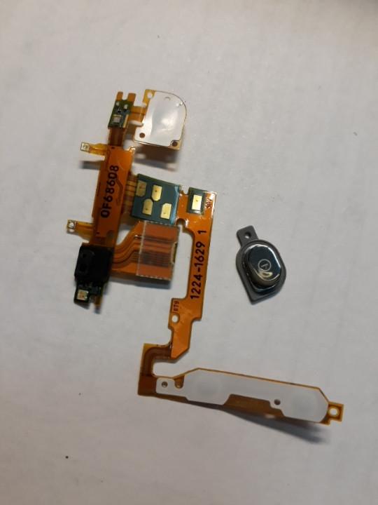 Sony Ericsson Xperia x10i шлейф кнопки включения динамика датчик приближения