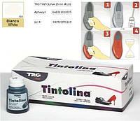 Краска для  кожи/обуви универсальная TRG Tintolina 101 (Белый)
