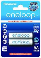 Акумулятор AA 1900 mAh Panasonic Eneloop Ni-MH блістер (2шт)