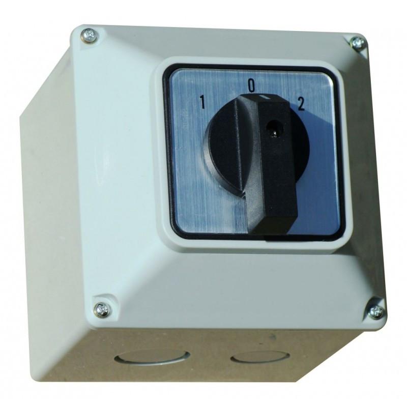 Переключатель кулачковый ПКП в корпусе 3 П 20А 1-0-2 380В