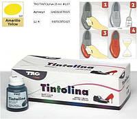 Краска для  кожи/обуви универсальная TRG Tintolina 107 (Желтый)