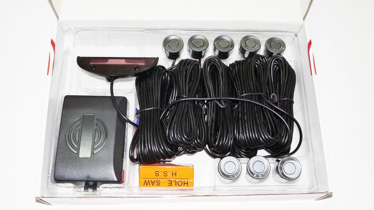 Система парковки на 8 датчиков (темно-серый)