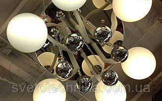Потолочная люстра на 6 плафонов Е27
