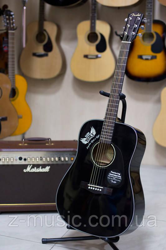 Гитара акустическая Fender CD 60 BK