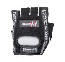 Перчатки для фитнеса и тяжелой атлетики Power System Workout PS-2200 Black, фото 3