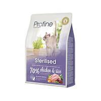 Profine Cat Sterilised 10 кг курица и рис, для кастрир котов и стерилизованных кошек