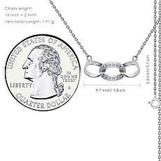 "Серебряная подвеска Kigmay Jewelry ""Символ бесконечности"", фото 3"