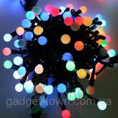 """Гирлянда """"LED-Шарики"""" 10 м, 80 диодов, цвет разноцветный"""