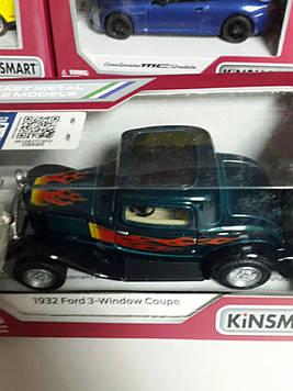 Машинка Kinsmart 1932 Ford 3 window coupe