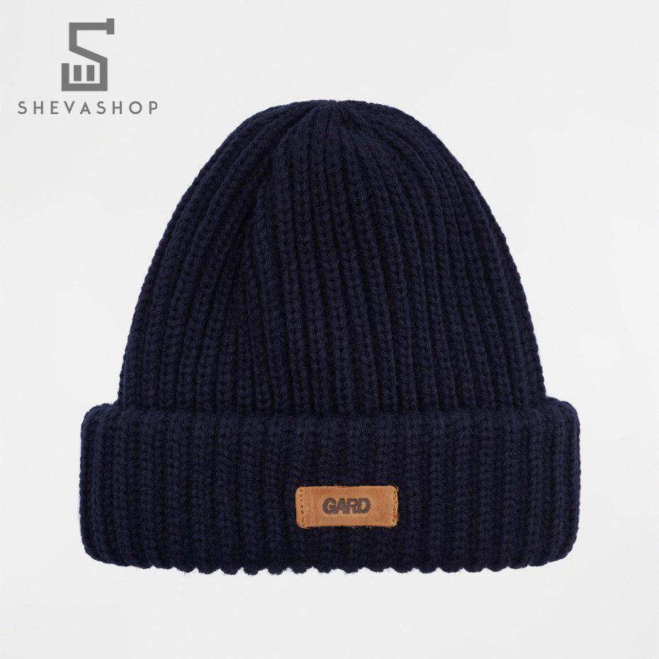 Зимняя шапка G knit | 4/18 тёмно-синяя, фото 1