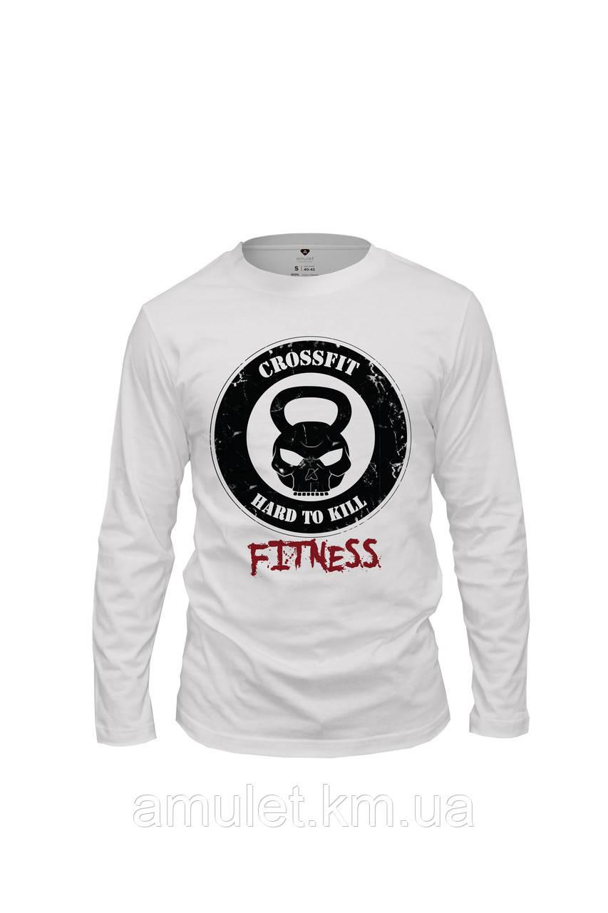 """Лонгслив футболка спортивная мужская  """"Fitness"""""""