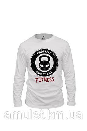 "Лонгслив футболка спортивная мужская  ""Fitness"", фото 2"