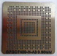 BGA трафарет GFGO7400-N-A3 0,50 mm