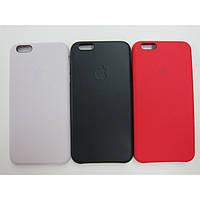 Накладка для iPhone 6 Plus/6s Plus силікон Оригінал (hi-copy) Black