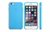 Накладка для iPhone 6/6s Silicone Case (Hi-copy) Sky Blue, фото 1