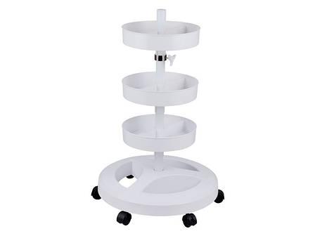 Штатив с тремя лотками для лампы-лупы (8,8 кг), фото 2