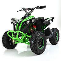 Двухместный Детский Электро-Квадроцикл 1000ват (1000Q-5 Салатовый)