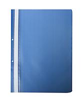 Скоросшиватель Buromax А4, синий с перфорацией BM.3314-02