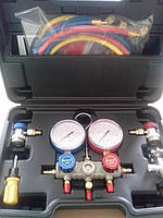 Манометрическая станция R-410  2-х вент. в чемодане