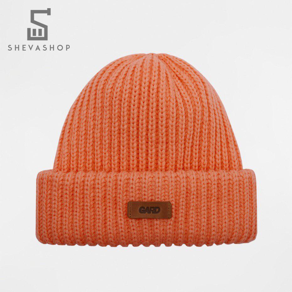 Зимняя шапка G knit   4/18 персикова