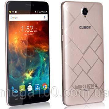 """Смартфон Cubot max золотой (экран """"6, памяти 3Gb/32Gb, батарея 4100 mAh)"""