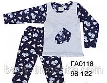 Піжама вельсофт для діток 98-104