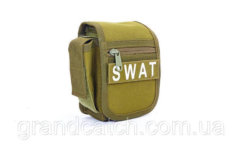 Сумка на пояс SWAT (олива)