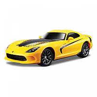 Автомодель Maisto Dodge 2013 SRT Viper GTS жёлтый со светом и звуком (81222 yellow)
