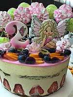 Муссовый праздничный тортик для дочки! , фото 1