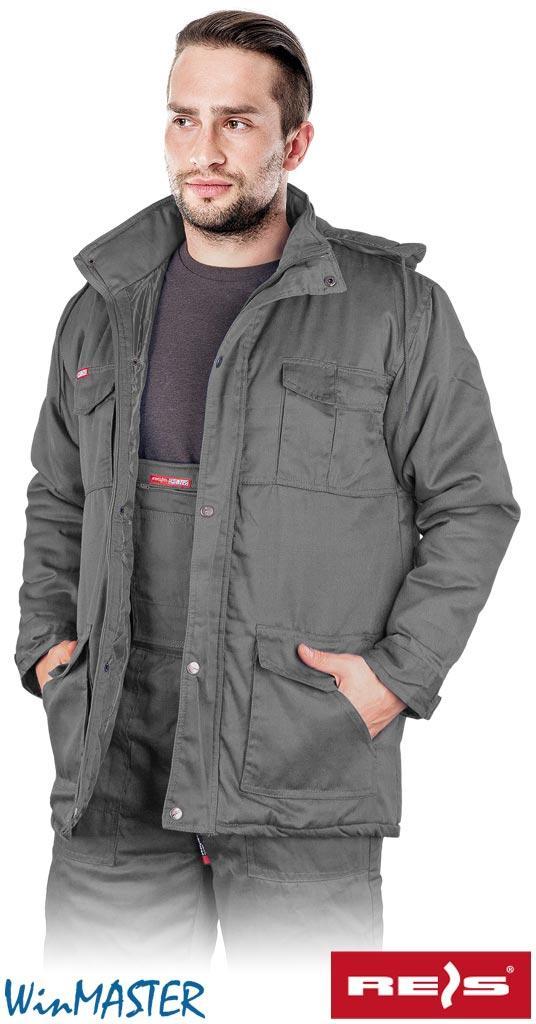 Куртка утепленная рабочая Reis Польша (зимняя рабочая одежда) KMO-LONG S