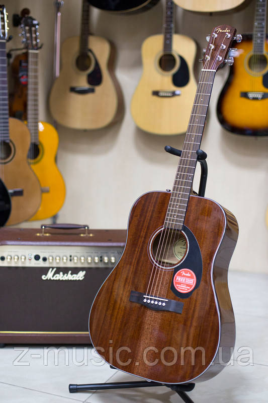 Гитара акустическая Fender CD-60 ALL Maho