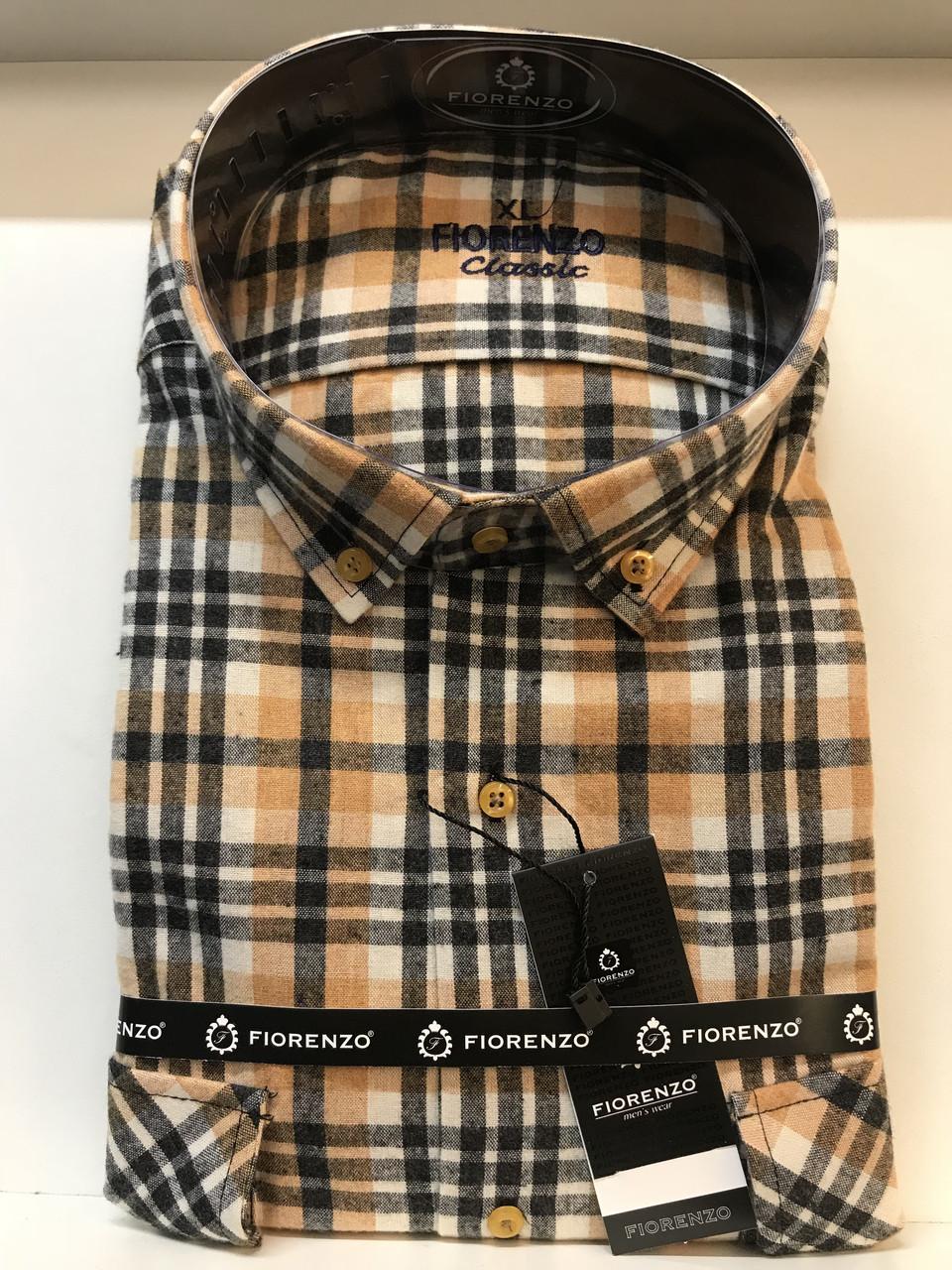 Мужская рубашка кашемир Fiorenzo