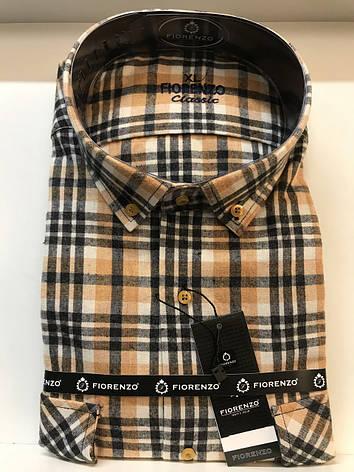 Мужская рубашка кашемир Fiorenzo, фото 2
