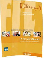 Немецкий язык / Подготовка к экзамену: Fit fürs Zertifikat B1, Deutschprüfung für Jugendliche / Hueber