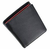 Маленький мужской кошелек Visconti VSL21 black red (Великобритания)