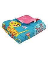 Детское одеяло РУНО шерсть теплое 105х140 РУ320.116ШК+У
