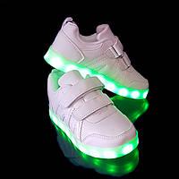 Кроссовки LED VENUS White 1088