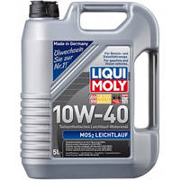 (+ПОДАРОК) Масло моторное 5 литров Liqui Moly MoS2 Leichtlauf 10W-40 (1931) с молибденом